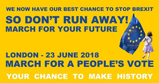 Anti Brexit March - London - 23 June 2018